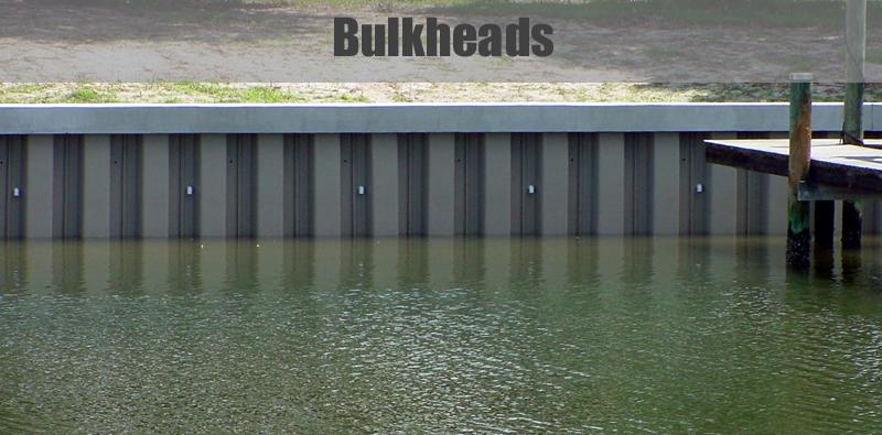 Bulkheads Duncan Marine Contractors Wilmington Nc